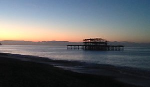 Peter Hutt Counselling Worthing Brighton and Hove . pier anxiety